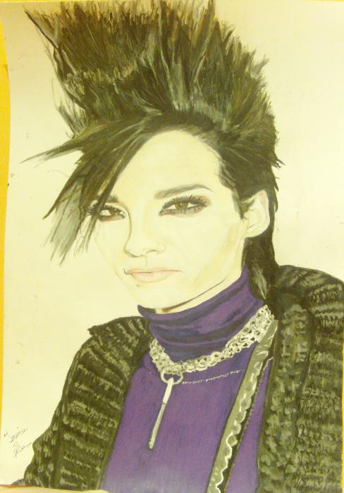 Bill Kaulitz by Eirene